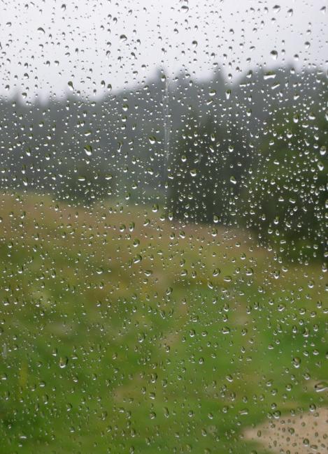 Eau de fenêtre