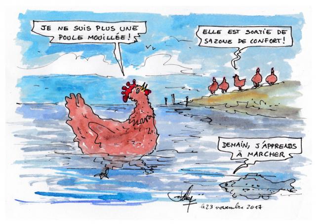 La poule mouillee
