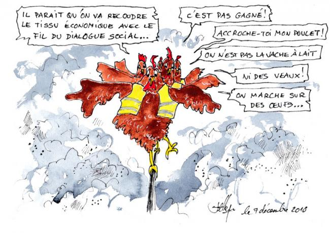 Le fil du dialogue