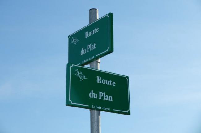 Route du plan